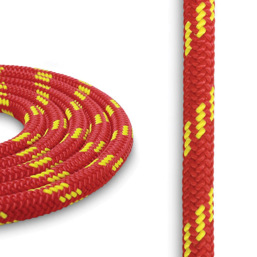 7mm Cord - Red w/ Yellow