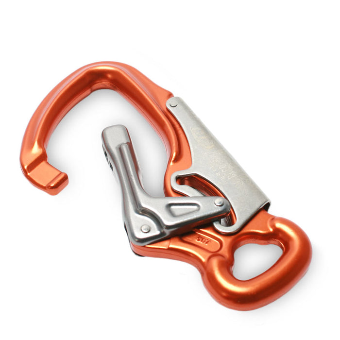CT Locking Snap - Orange with Oval Eye