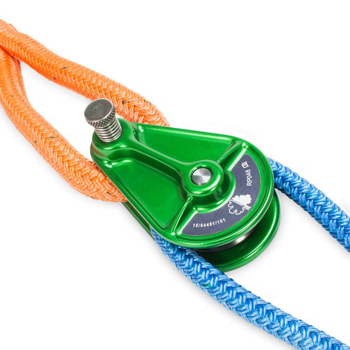 "Pulley Block for 1/2"" Rope - Green"