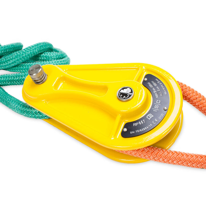 "Pulley Block for 3/4"" Rope - Yellow"