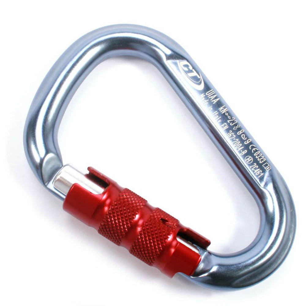 CT HMS Carabiner | Blue with Red Gate