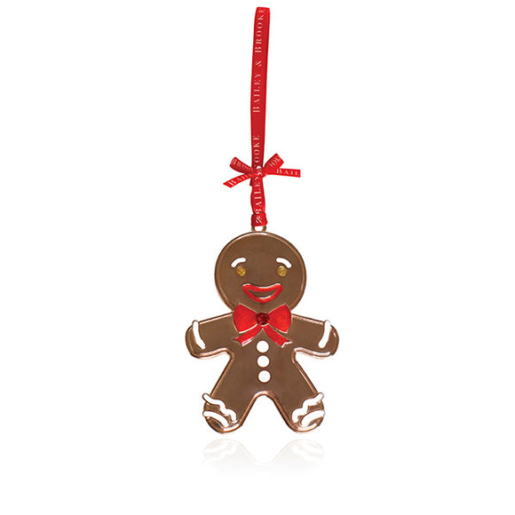 Sparkle Gingerbread Man Decoration