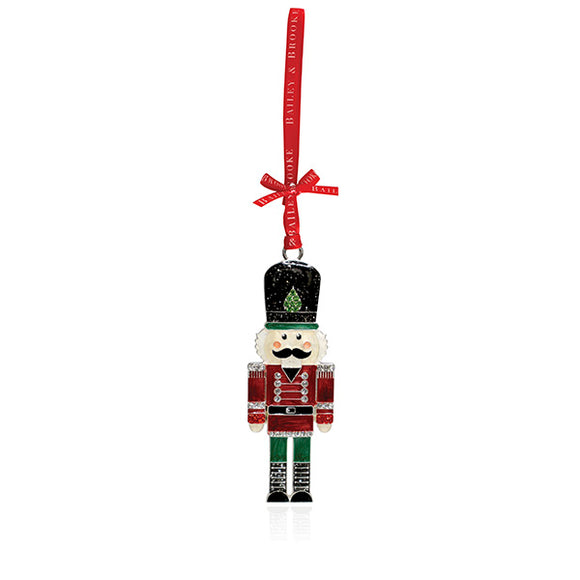 Sparkle Nutcracker Soldier Decoration
