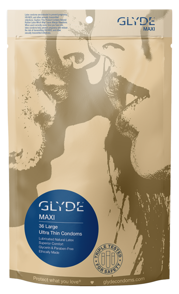 GLYDE Maxi 36 Condoms