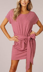 Take Me Away Dress - Rose