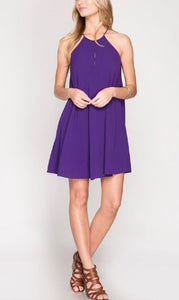Sunny Days Dress Purple
