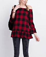 Sleigh Bells Top - Red