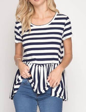 Sweet Kisses Top Navy