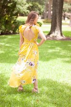 A Dreamy Day Dress - Mustard