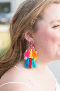 Fiesta Earrings - Multi