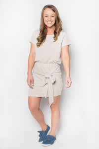 Take Me Away Dress - Gray