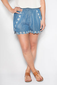 In the Details - Denim Shorts