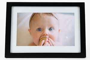 Skylight Frame: 10 inch WiFi Digital Picture Frame, Email Photos from Anywhere, Touch Screen Display