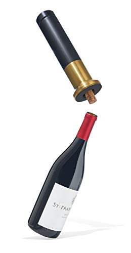 RBT Electric Corkscrew Wine Opener (Black/Gold)