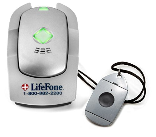 LifeFone - at Home and On The Go Voice in Pendant with Fall Detection