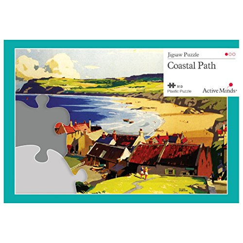 Active Minds 13 Piece Coastal Path Jigsaw Puzzle | Specialist Alzheimer's/Dementia Activities & Games