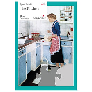 Active Minds 13 Piece Kitchen Jigsaw Puzzle | Specialist Alzheimer's/Dementia Activities & Games