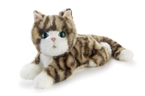 Ageless Innovation, Joy For All Companion Pets, Silver Tabby Kitten, Lifelike & Realistic, Comfort, Joy & Companionship