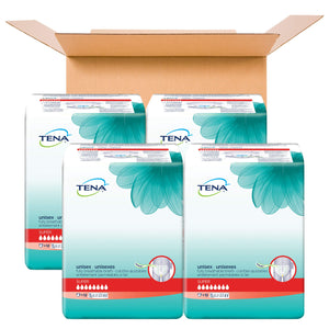 Tena Incontinence Briefs, Uni-Sex Fit, Super Absorbency, XLarge, 48 Count