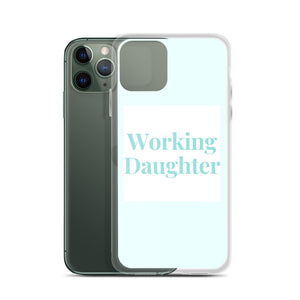 Working Daughter iPhone Case