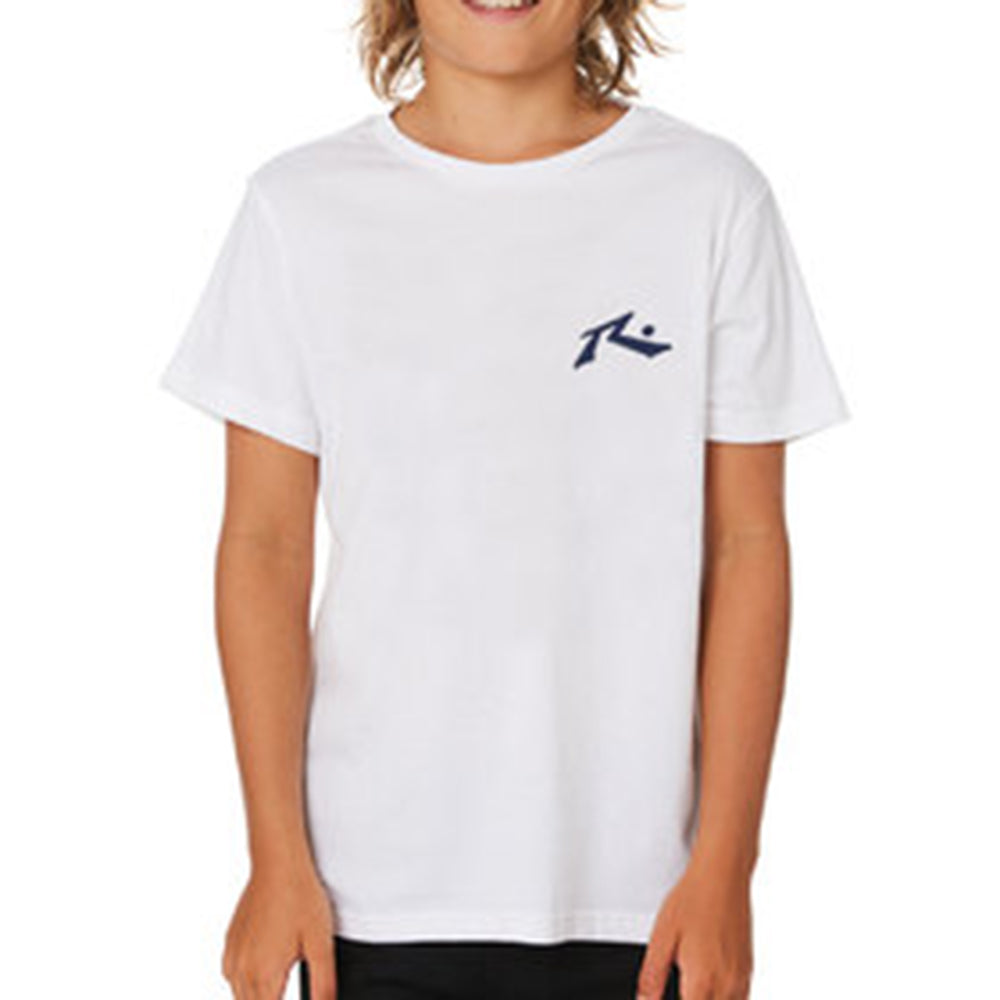 Remera Rusty Competition Blan Runts
