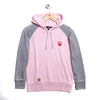 Buzo Canguro Girls Rusty Alpha Hood Rosa