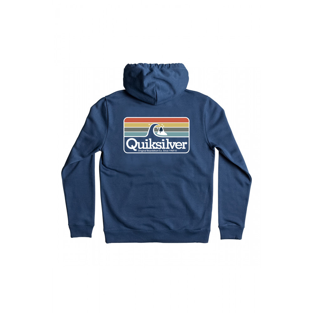 Canguro Quiksilver Clean Lines Azul
