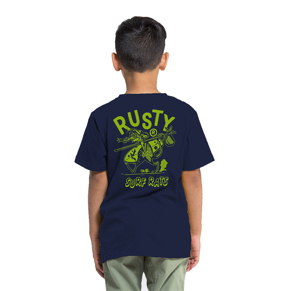 Remera Rusty Surf Mouse Runts