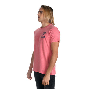 Remera Hombre Rusty San Onofre Rosa