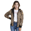 Campera Mujer Rusty Lotus Reversible jk animal print