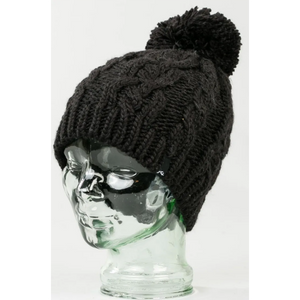 Gorro de Lana Mermaid Black Marle