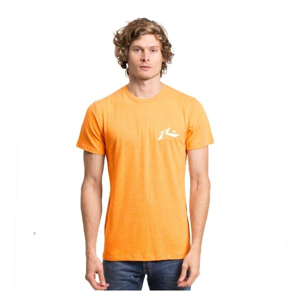Remera Hombre Rusty Competition Mostaza