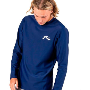 Remera Lycra Surf Hombre Rusty Competition Azul