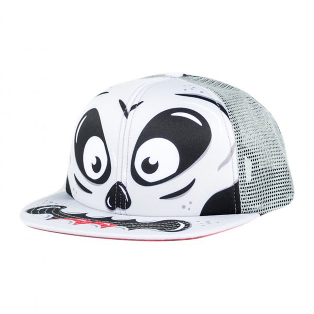 Gorra Rusty Skeletor Trucker Gris