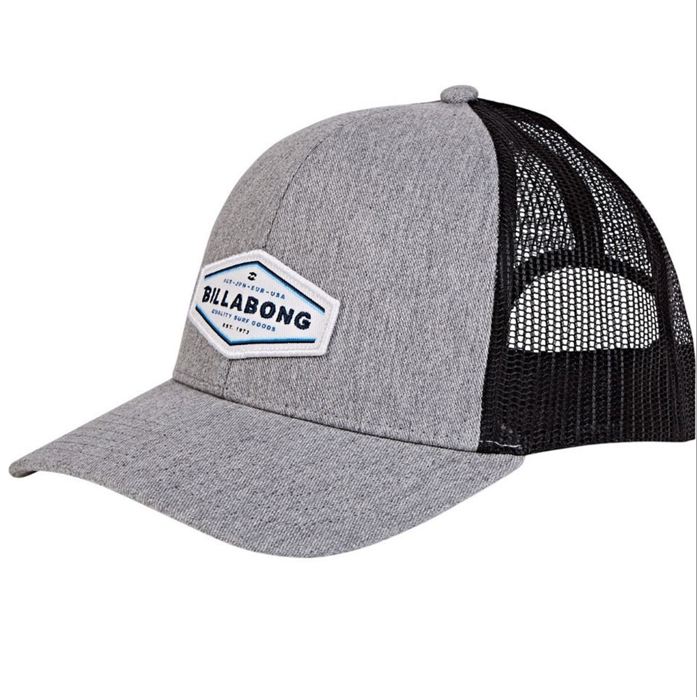 gorra billabong walled trucker gris