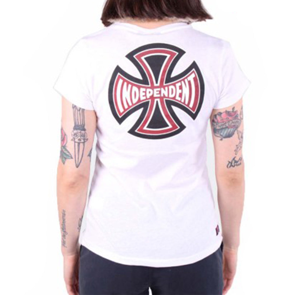 Remera Mujer Independent  Indy G Te Print Blanco