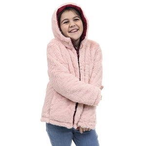 Campera Girls Rusty Masha Rever Coat Bordo