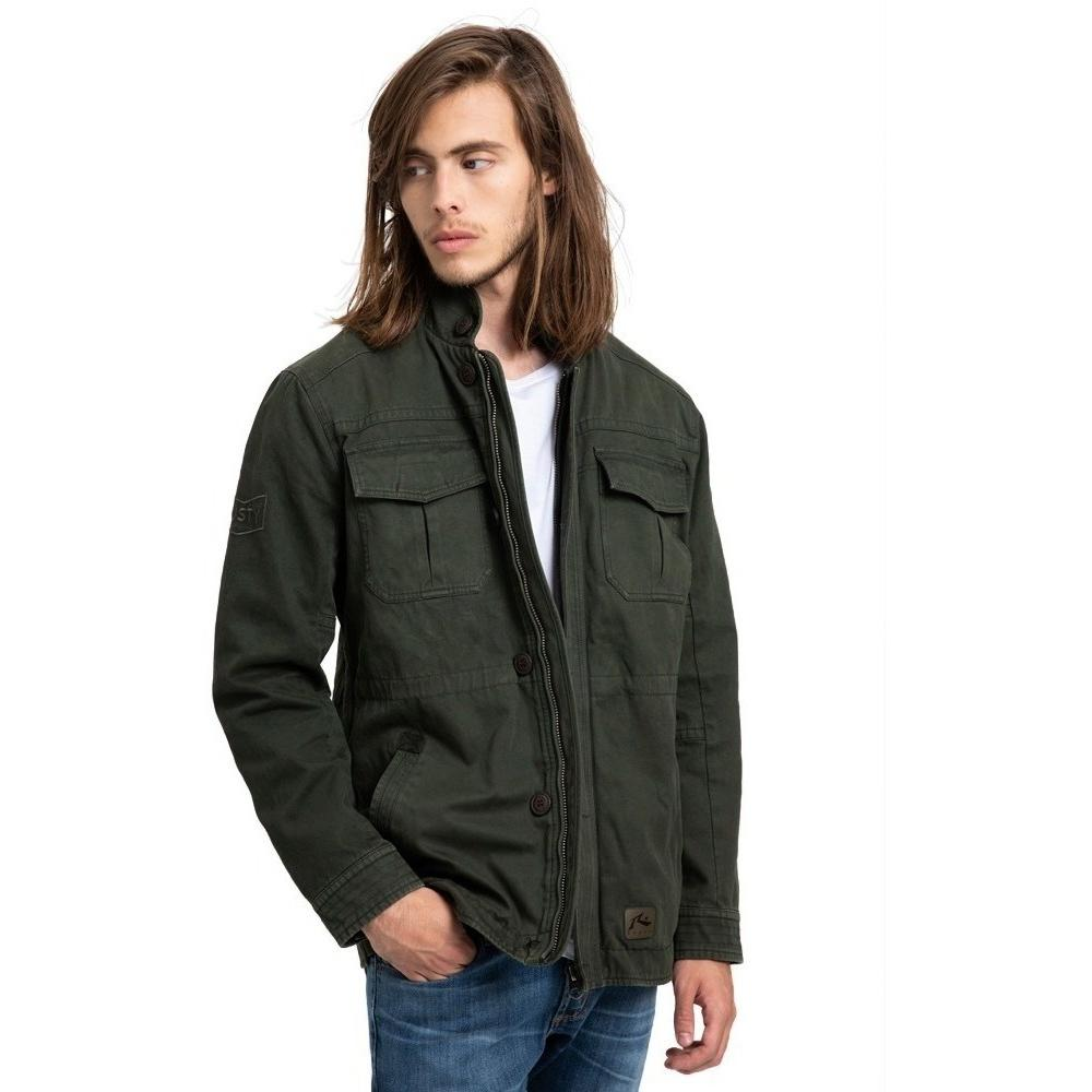 Campera Hombre Rusty Peace Station Verde