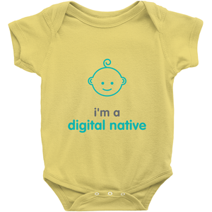 Digital Native Onesie (English)