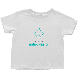 Digital Native Toddler T-Shirt (Spanish)