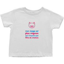 Kitty Toddler T-Shirt (French)