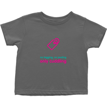 No Tagging Toddler T-Shirts (English)