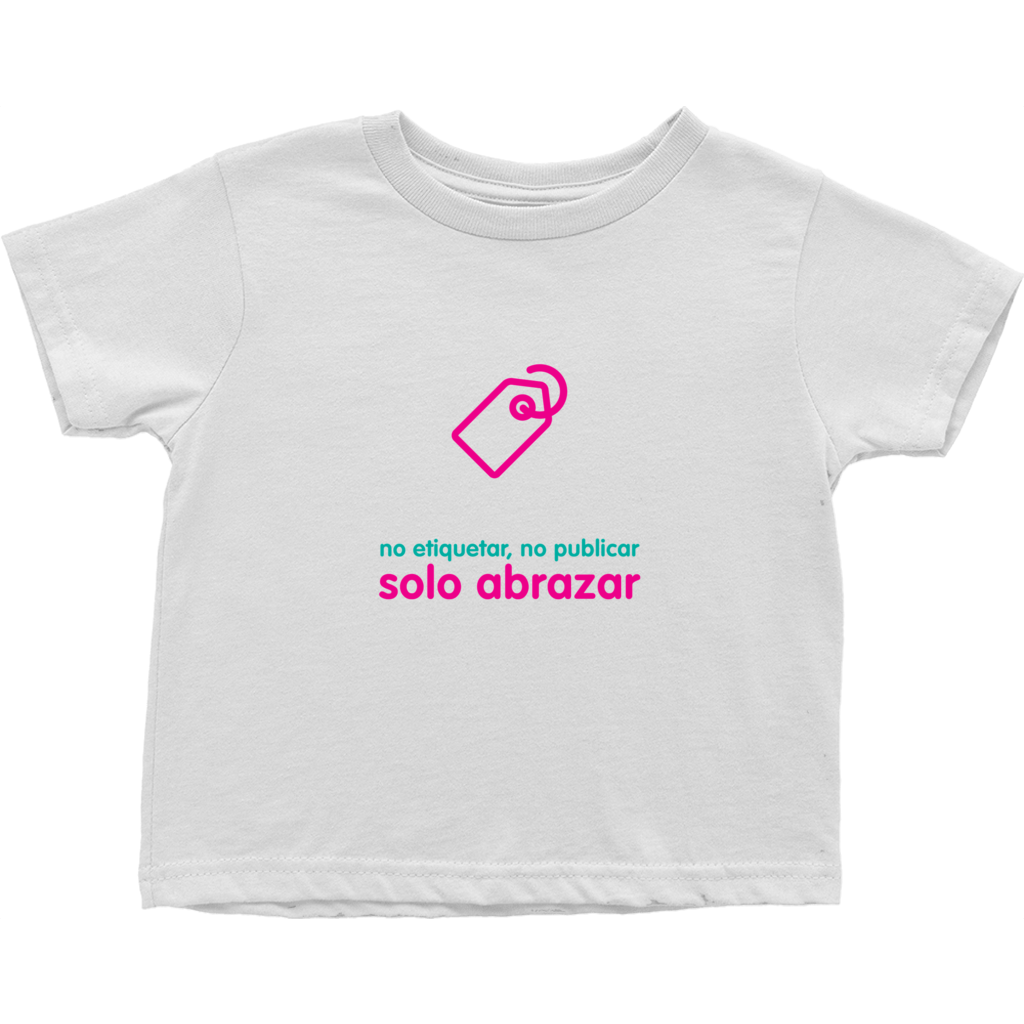 No Tagging Toddler T-Shirts (Spanish)