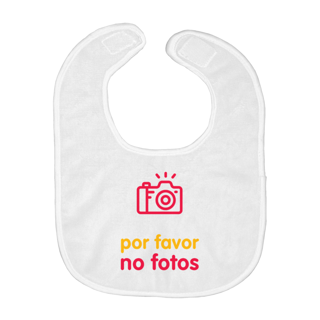 No Photos Bib (Spanish)