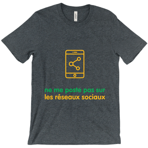 Don't Post Adult T-Shirts (French)