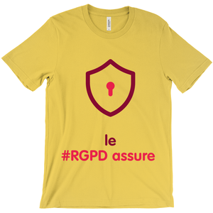GDPR Rules Adult T-Shirts (French)