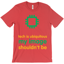 Tech is Ubiquitous Adult T-Shirts (English)