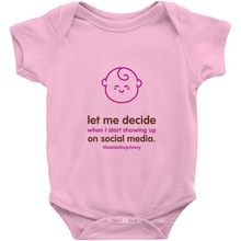 Let me decide Onesie (English)