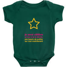 I'll be famous someday Onesie (French)