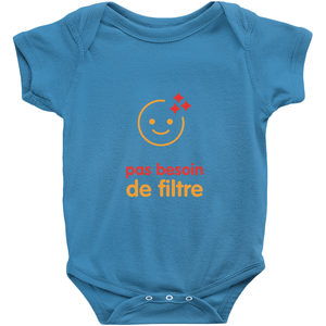 No filter needed Onesie (French)